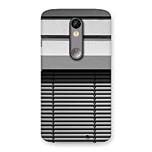Neo World Window Design Back Case Cover for Moto X Force