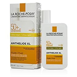 La Roche Posay Anthelios XL 50 Ultra-Light Fluid SPF 50+ - For Sensitive & Sun Intolerant Skin 50ml/1.69oz