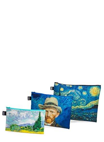 LOQI Museum Vincent Zip-Etuis Münzbörse, 32 cm, Van Gogh