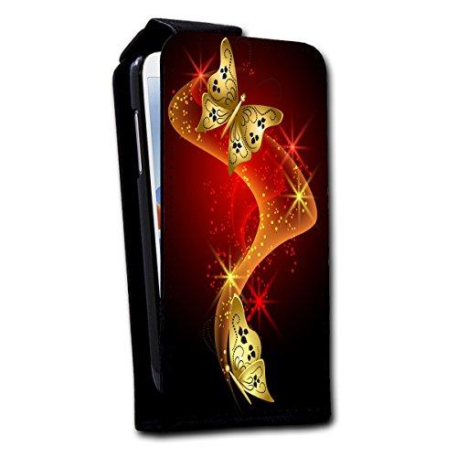 à clapet vertical Housse Case Coque Photo Motif Étui pour Apple iPhone 5/5S Design au choix–Sélection V4, Design 1 (Pourpre) - SB-Vertikal V4 Design 11