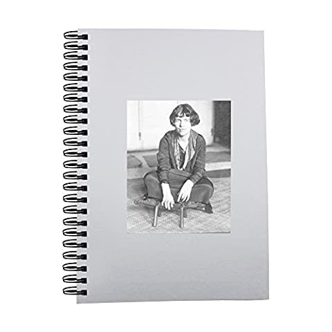 Notebook with Margaret Mead sitting on the