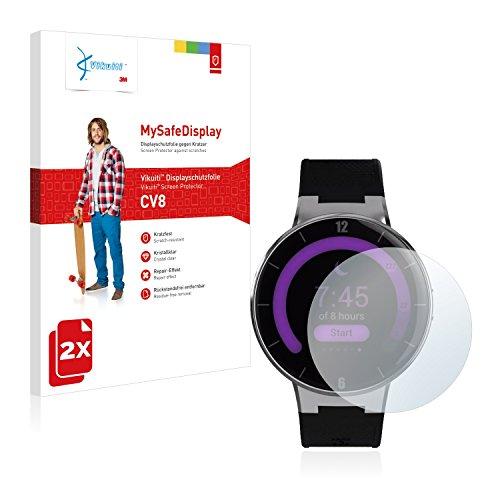 Vikuiti 2X Pellicola Protettiva CV8 da 3M Compatibile con Alcatel One Touch Watch Protezione Proteggi-Schermo