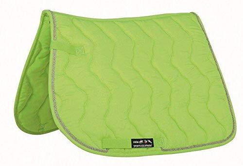 HKM Schabracke -Neon-, Neon grün, Dressur
