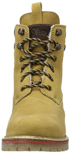 s.Oliver Damen 26239 Combat Boots Gelb (CORN 604)
