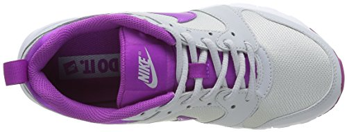 Nike Wmns Air Max Motion, Chaussures de Sport Femme, 36 EU Blanc (platine pur / hyper violet - blanc)