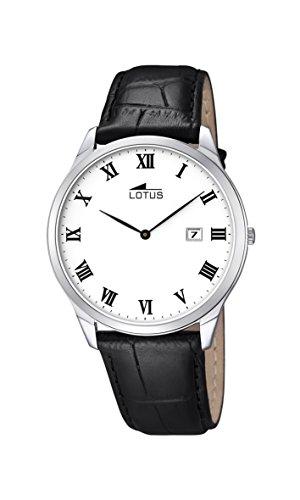 Lotus - 10124/3 - Montre Homme - Quartz - Analogique - Bracelet Cuir Noir