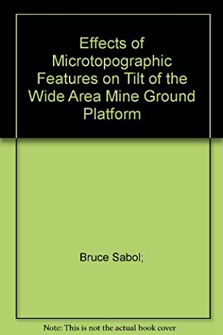 Effects of Microtopographic Features on Tilt of the Wide Area Mine Ground Platform