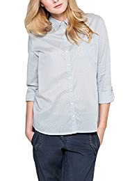 Comma CI Damen Regular Fit Bluse 80.899.11.1719