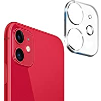 Camera Lens Screen Protector for iPhone 11 Tempered Glass Film Metal Rear Lens Protection Case clear