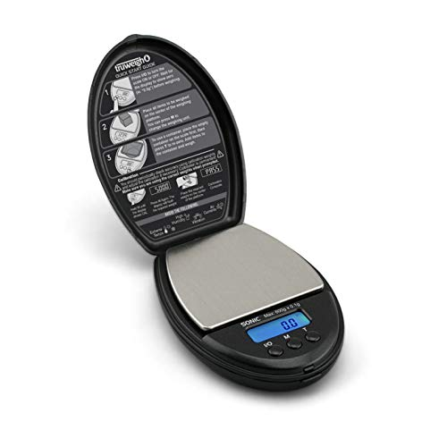 SONIC Digitale Miniwaage 600g x 0,1g schwarz