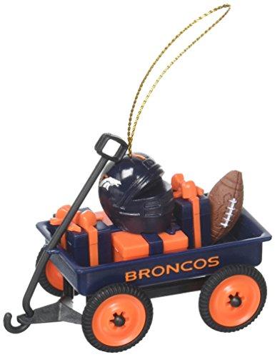 Team Sport Amerika 3ot3809wgn Denver Broncos Team Wagon Ornament