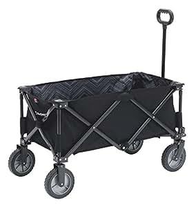 Outwell Unisex Transporter Carry Wagon x, Black, 49 x 93 x 58 cm