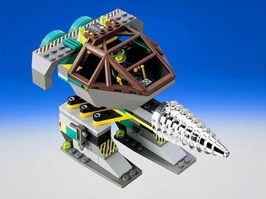 Granite Grinder Rock Raiders LEGO System Set 4940 Rock Grinder