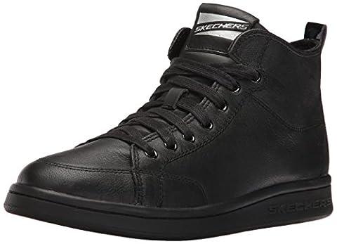Skechers Damen Omne-Midtown Hohe Sneakers, Schwarz (Bbk), 39 EU
