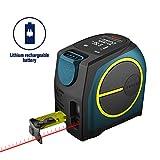 Télémètre Laser Numérique,Hanmer Mètre Laser Numérique,Mètre Ruban...