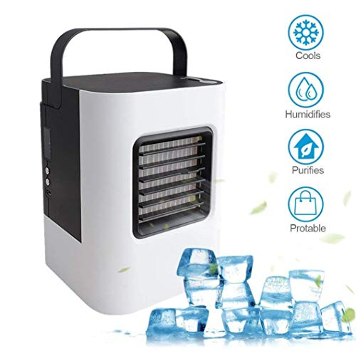 TAOtTAO USB Lade Klimaanlage Lüfter Mini Portable Kühlschrank Luftkühler Nano Fan