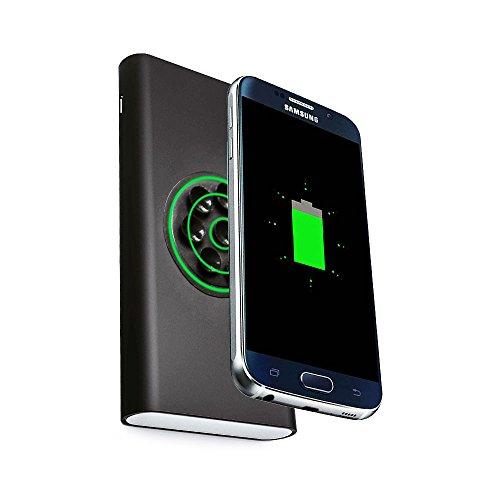 Cellonic-Wireless-2in1-Powerbank-8000mAh-mit-Saugnapf-fr-Qi-Gerte-Samsung-Galaxy-S6-S7-Edge-Note-5-Nokia-Lumia-950-930-830-735--Externer-Akku-USB-Ladegert-Batterie-tragbar-Smartphone-kabellos-schwarz