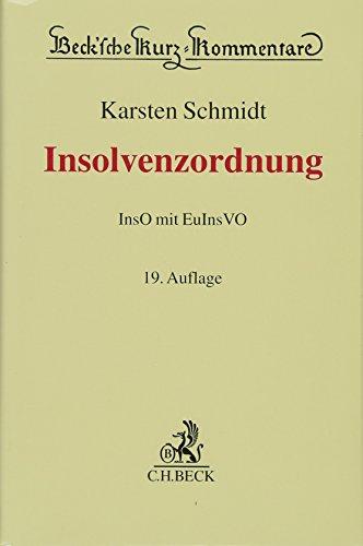 Insolvenzordnung: InsO mit EuInsVO