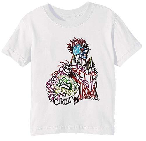 Descubrimiento Niños Unisexo Niño Niña Camiseta Cuello Redondo Blanco Manga Corta Tamaño XS Men's White T-Shirt Extra Small Size XS