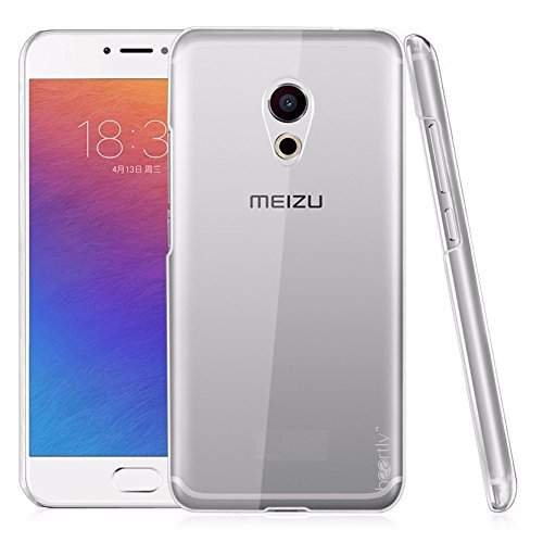 Heartly Crystal Clear Hot Transparent Thin Hard Back Case Cover For Meizu Pro 6