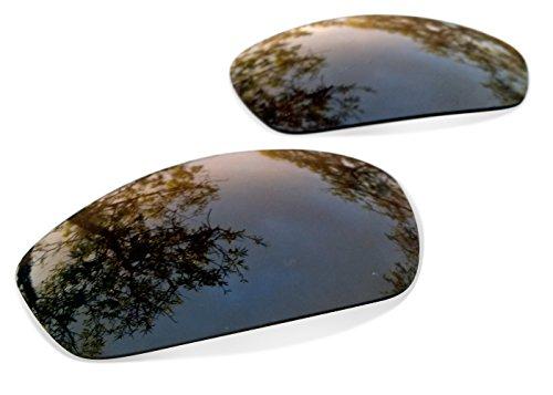 sunglasses restorer Kompatibel Ersatzgläser für Oakley Juliet, Polarisierte Brown Linsen
