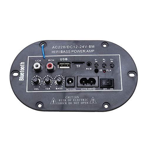 NICOLIE 220V 8 Pulgadas De Alta Potencia Entusiasta Tarjeta De Audio Digital con Bluetooth Amplificador...