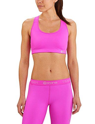 Skins DNAmic Team Womens Speed Crop Magenta Pink