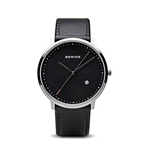 Bering Classic – Reloj analógico de caballero de cuarzo con correa