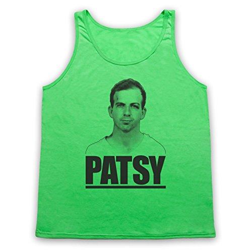 Lee Harvey Oswald Patsy Tank-Top Weste Neon Grun