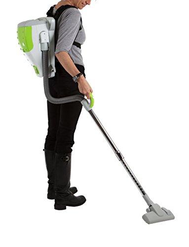 AspiroBag Rucksackstaubsauger, tragbar, kompakt, mit Tasche, Energieeffizienzklasse A, mit 12Staubsaugerbeuteln, mit Zubehör