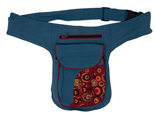 Riñonera lateral con tres bolsillos (Color 2)