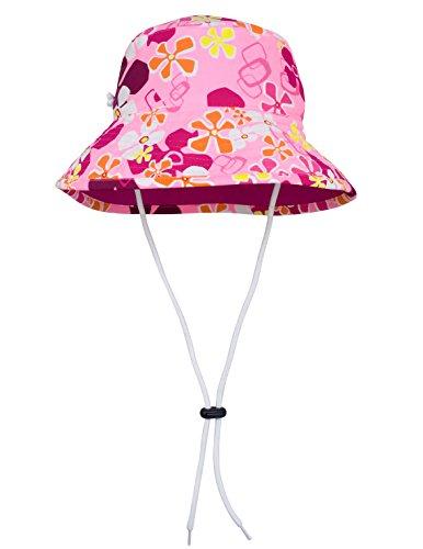TUGA Sunwear Sonnenhut Mädchen, Misty Pink, Gr. L (52.5-55 cm), 18-3024-03