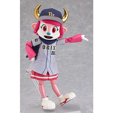 Max Factory Figma EX010 Orix Buffaloes Official Mascot BUFFALO BELL Visitor ver. Action Figure