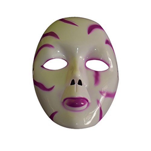 LUFA Halloween Masquerade Horror Ghost Maske Dämon Scary Maske Party (Leere Maske Drama)