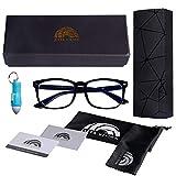 Ziffs Vision Blue Light Blocking Glasses | Gaming Glasses | Free Magnetic case & Accessories | Blue Light Glasses Women & Men |