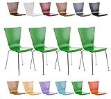 Set 4x sedie impilabili AARON La sedia impilabile AARON si contraddistingue per il suo design classico e intramontabile, adatto per essere utilizzato in qualsiasi occasione, che sia una fiera, evento, congresso o come sedia per sala riunioni ...