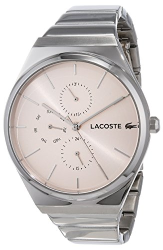 Lacoste Unisex-Adult Analogue Classic Quartz Watch with Stainless Steel Strap 2001038
