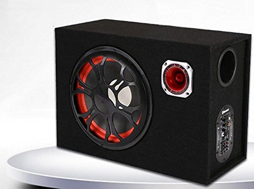 QXXZ 6Inch 12V 24V 220V Quadrat Bluetooth-Lautsprecher Subwoofer Motorrad Zu Hause/Auto/Computer-Nutzung