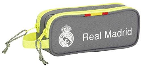 Real Madrid – Portatodo doble, 21 x 8 x 6 cm (Safta 811554513)