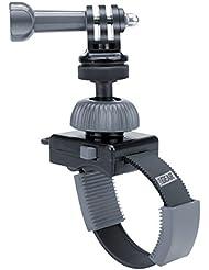 USA Gear Action Mount Support Caméra avec Collier de Serrage Ajustable pour Caméras Embarquées – Compatible avec GoPro Hero5, Hero4 Silver, Hero Session, Hero3+ Silver/ Excelvan/ TecTecTec XPRO1/ SAVFY Multifonction SJ4000/ Vivitar/ Ultrasport/ Canon/ Nikon et plus!