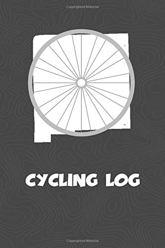 Cycling Log: New Mexico Cycling Log for tracking and monitoring your workouts and progress towards your bicycling goals. A great fitness resource for ... Bicyclists will love this way to track goals! por KwG Creates