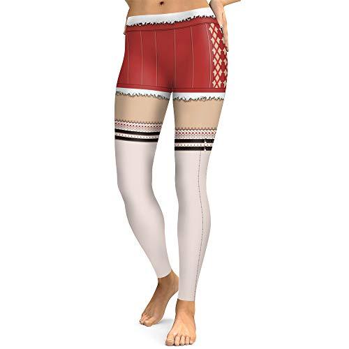 Pantalons De Yoga Femmes Leggings Femme Noël Impression Leggings Femme Élastique Pantalon de Sport Pantalon de Pilate Yoga Collant pour Femme CIELLTE