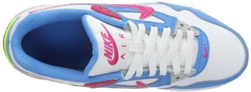 Nike - Air Max Skyline, Scarpe da corsa Bambina Mehrfarbig (White-Vivid Pink-Vivid Blue 115)