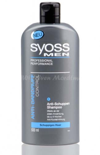 SYOSS Men Anti-Schuppen Control Shampoo 500ml (R20)