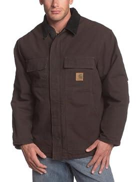 Carhartt Sandstone - Chaqueta de trabajo oscura 3XL, C26, color marrón