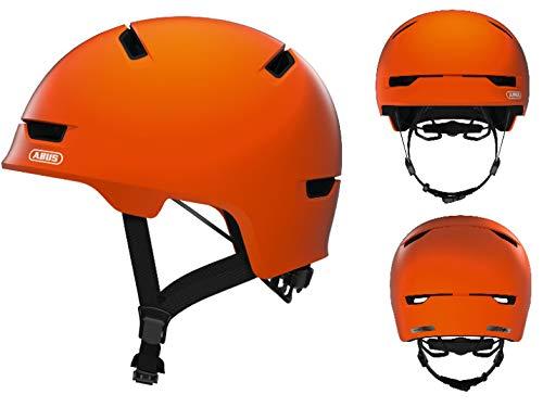 Abus Unisex- Erwachsene Scraper 3.0 Fahrradhelm, Signal orange, L