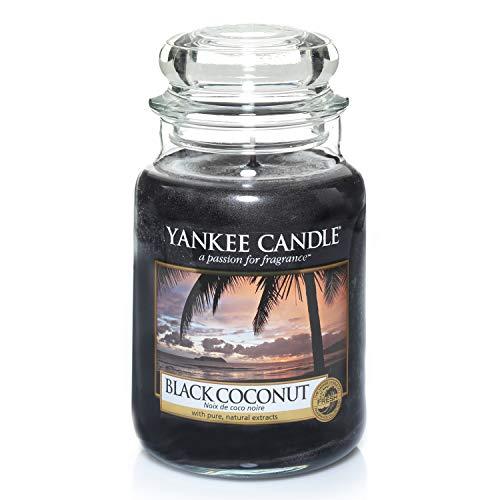 Photo de yankee-candle-bougie-jarre-parfumee-noix-de-coco-noire