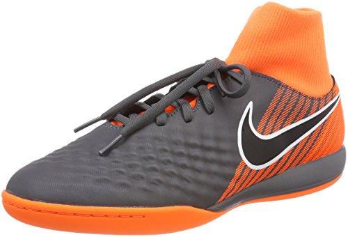 Nike Magista Obrax 2 Academy Dynamic Fit IC, Botas de fútbol para Hombre, Gris Dark Grey/Black-Total...