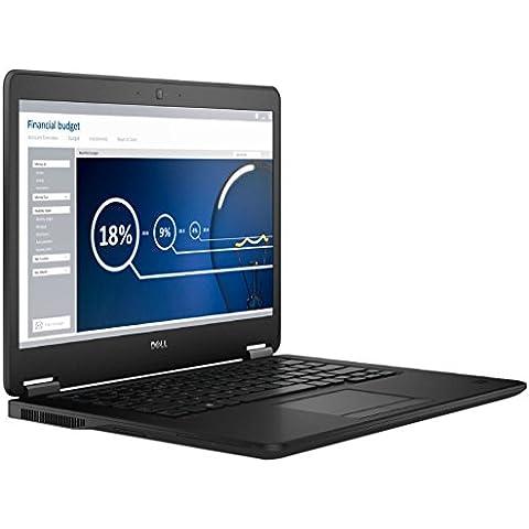 DELL 7450–0057Latitude E7450–005735,56cm (14,0pulgadas) portátiles (Intel Core i7–5600U, 2,6GHz, 8GB de RAM, 256GB de disco duro, Windows 7Professional),