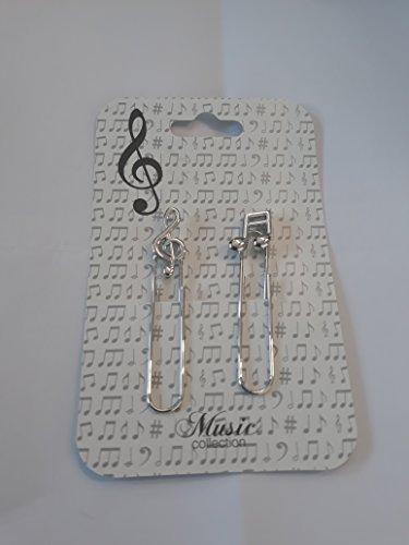 Kreuzstich-Buch mit Noten. Marcapaginas Musical Marble